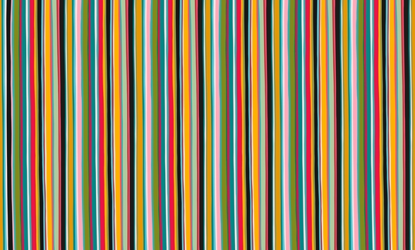 Coloured Lines wall mural