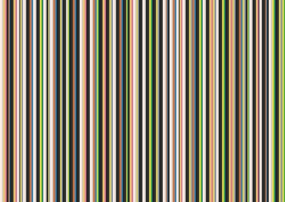 Twisted Pixels Stripes wall mural