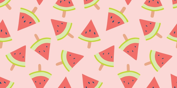 Water Melon Light wallpaper mural