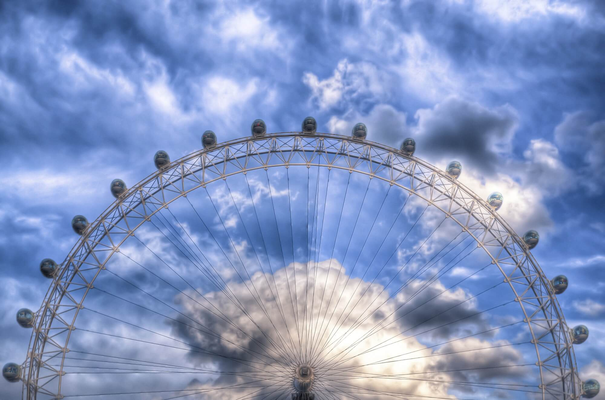 top of the london eye & nick jackson wall mural | wallsauce finland