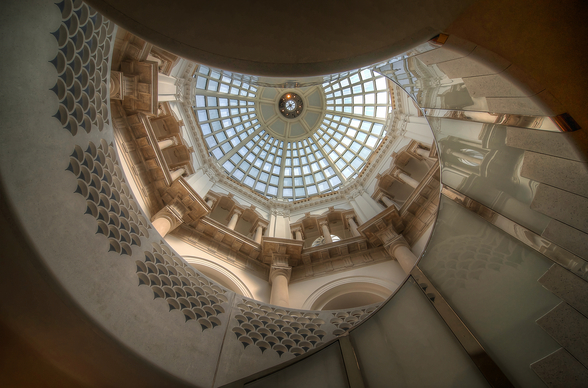 The Tate Britain Staircase wall mural