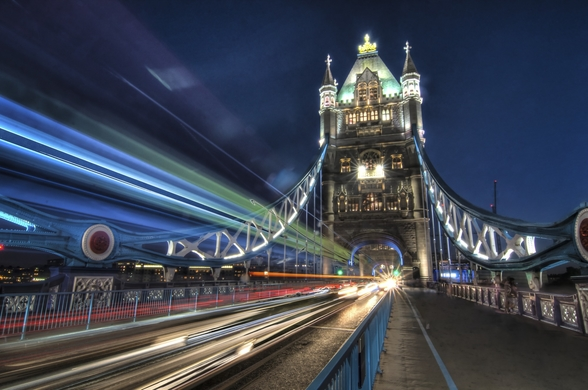 Tower Bridge Traffic wall mural