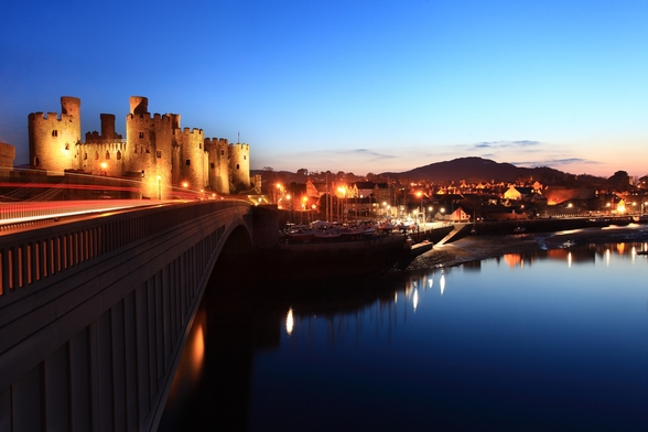 Conwy Castle wall mural