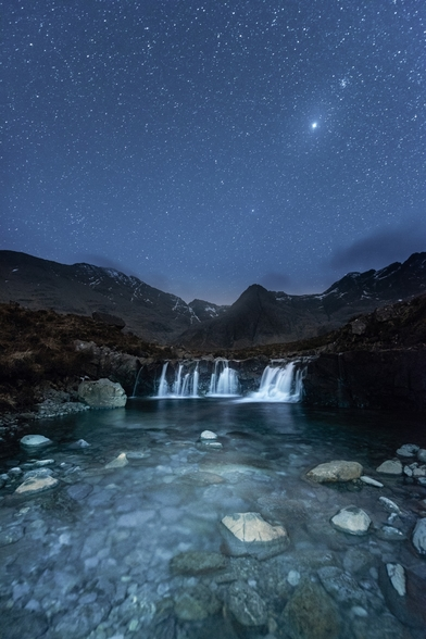 The Fairy Pools wall mural