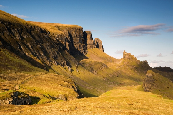 Towers of Skye mural wallpaper