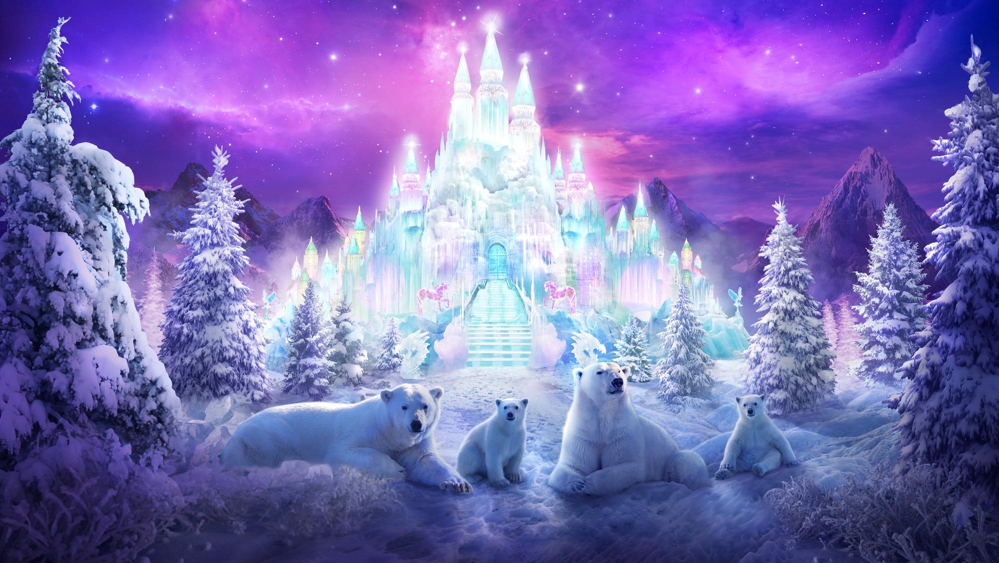 A Winter Wonderland Wall Mural By Philip Straub Wallsauce