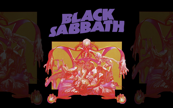 Black Sabbath - Sabbath Bloody Sabbath mural wallpaper