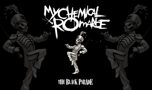 My Chemical Romance The Black Parade mural wallpaper