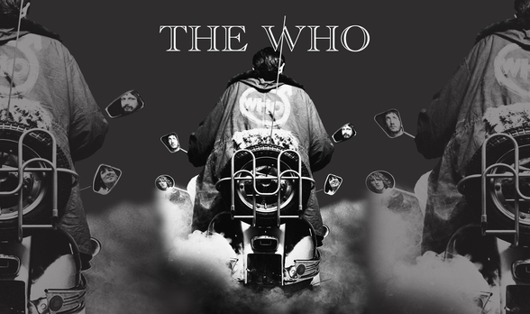 The Who Quadrophenia mural wallpaper