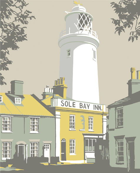Sole Bay Inn 1 mural wallpaper