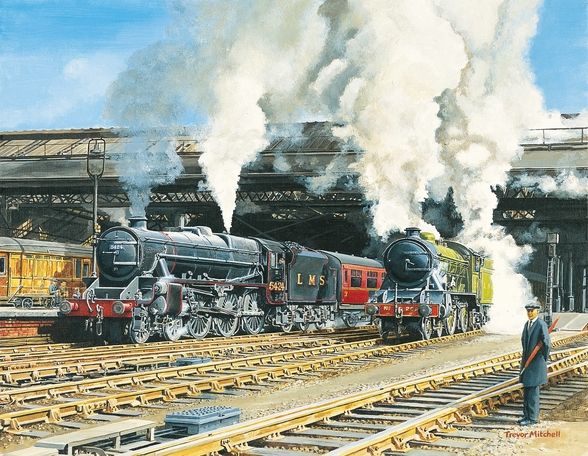 Full Steam Ahead wall mural