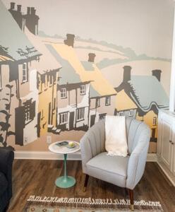 wallpaper of shaftesbury in living room