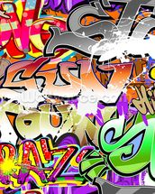 Urban Graffiti Art wall mural thumbnail