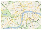 London Map wallpaper mural thumbnail