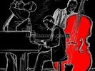 Jazz Trio wall mural thumbnail