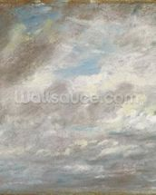 Cloud Study, c.1821 (oil on paper laid on card) wall mural thumbnail