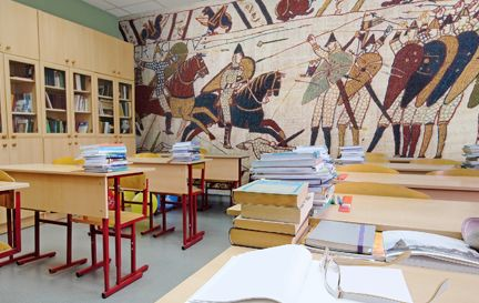 School Murals Wall Murals Wallpaper