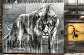 Guarded by the Lion wallpaper mural thumbnail