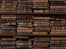 Horizontal Books wall mural thumbnail