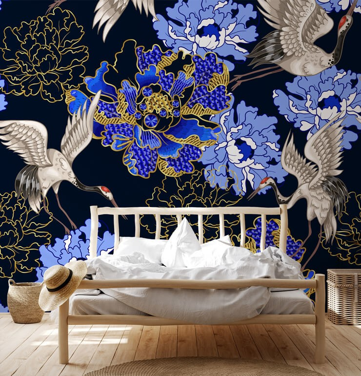 Top 10 Crane Wallpaper Ideas For Every Room Wallsauce Us