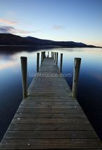 Evening Light on Ashness Pier mural wallpaper thumbnail