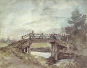 A Bridge over the Stour wallpaper mural thumbnail