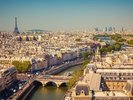 Ariel View of Paris wall mural thumbnail