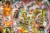 Graffiti Montage mural wallpaper thumbnail