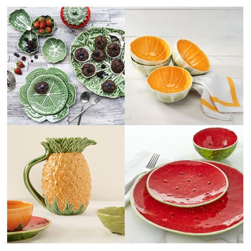 vegetable and fruit pottery from Micucci