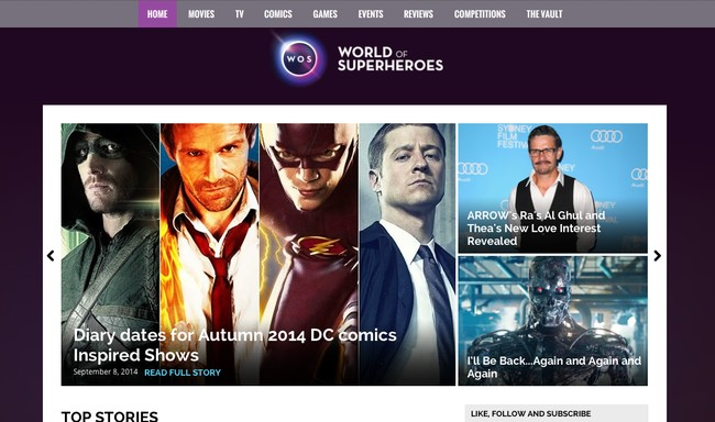 Wallsauce teams up with World of Superheroes.com