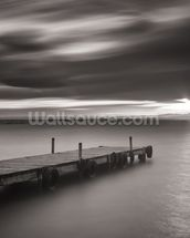 Pier Black & White wallpaper mural thumbnail