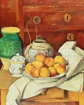 Still Life with a Chest of Drawers, 1883-87 (oil on canvas) wall mural thumbnail