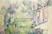 Mill on the River, 1900 (w/c on paper) mural wallpaper thumbnail