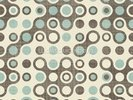 Blue Brown Retro Pattern wall mural thumbnail
