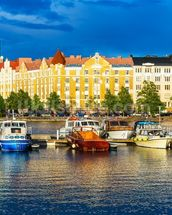 Helsinki Waterfront mural wallpaper thumbnail