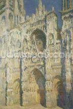 Rouen Cathedral in Full Sunlight: Harmony in Blue and Gold, 1894 wall mural thumbnail