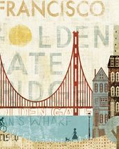 Hey San Francisco wall mural thumbnail