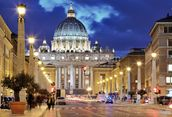 St. Peter's Rome mural wallpaper thumbnail