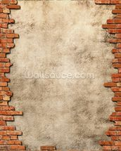 Brick Wall Frame mural wallpaper thumbnail