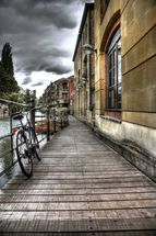 River Cam Walkway wall mural thumbnail
