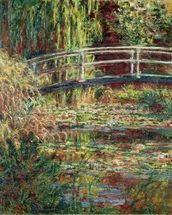 Waterlily Pond: Pink Harmony, 1900 (oil on canvas) wallpaper mural thumbnail