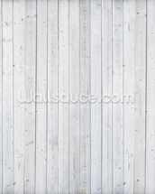 White Wood Wall wallpaper mural thumbnail