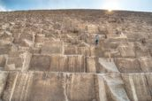 Children Climbing The Great Pyramid mural wallpaper thumbnail