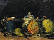 Still Life, c.1865 (oil on canvas) wall mural thumbnail