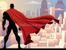 Superhero Watch wall mural thumbnail