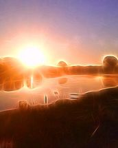 Light Avon Sunrise wallpaper mural thumbnail