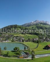 Engelberg wallpaper mural thumbnail
