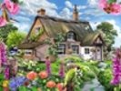 Foxglove cottage wall mural thumbnail