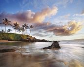 Maui Makena Beach wall mural thumbnail