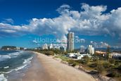 Burleigh Heads, Gold Coast wall mural thumbnail